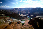 UT: Utah; Canyonlands National Park, Colorado River, Gooseneck, Dead Horse Point View             .Photo Copyright: Lee Foster, lee@fostertravel.com, www.fostertravel.com, (510) 549-2202.Image: utcany201