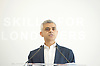 Sadiq Khan, the Mayor of London, officially launches Skills for Londoners &ndash; a new initiative that aims to ensure that all Londoners have the opportunity to train in the skills that the capital&rsquo;s economy needs.<br /> <br /> At South Thames College (Merton Campus) London Rd, Morden, Great Britain on 27th April 2017.<br /> <br /> The Mayor joins students at South Thames College (Merton Campus) who are learning how to repair motorcycles before seeking employment or setting up their own business.<br /> <br /> <br /> <br /> <br /> <br /> <br /> Photograph by Elliott Franks <br /> Image licensed to Elliott Franks Photography Services