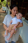 Land Mine Museum Worker & Baby