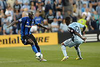 Hassoun Camara (6) midfield Montreal Impact in action<br /> Montreal Impact defeated Sporting Kansas City 2-1 at Sporting Park, Kansas City, Kansas.