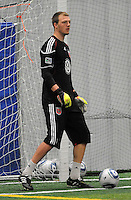 DC United goalkeeper Joe Willis (31)    at the first official training session of the 2011 MLS season.  At Greenbelt Sportsplex, Friday January 28, 2011.