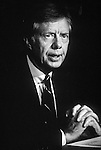 1980 President Jimmy Carter in teh White House in the wake of the 1980 Presidential election.