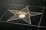 Douglas Fairbanks Jr. star on the Hollywood Blvd. Walk of Fame