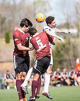The Winthrop University Eagles played the UNC Wilmington Seahawks in The Manchester Cup on April 5, 2014.  The Seahawks won 1-0.  C.J. Miller (5), Jordi Lluch (3), Jordan Cordero (18)