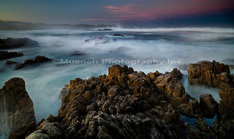 Sunrise, 17 mile Drive, Big Sur Coast, California