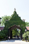 Cobb Gate, designed by Henry Ives Cobb, University of Chicago campus, Chicago, Illinois, IL, USA
