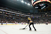 Los Angeles Kings Ice Girls during ice-hockey match between Los Angeles Kings and Detroit Red Wings in NHL league, February 28, 2011 at Staples Center, Los Angeles, USA. (Photo By Matic Klansek Velej / Sportida.com)