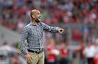 Fussball  International   Audi Cup 2013  Saison 2013/2014   31.07.2013 FC Bayern Muenchen - Sao Paulo FC  Trainer Pep Guardiola (FC Bayern Muenchen)