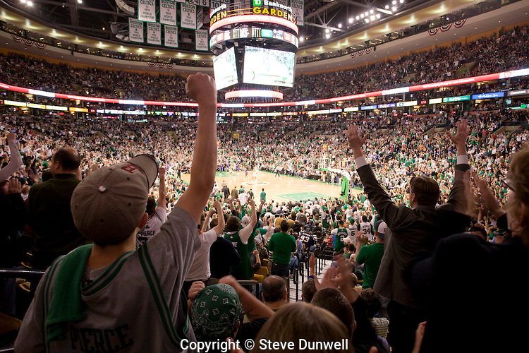 Celtics Basketball At Td Garden Boston Steve Dunwell