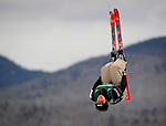 19 January 2008: Amber Peterson from Canada takes a practice jump prior to the FIS World Cup Freestyle Ladies' Aerial Competition at the MacKenzie Ski Jump Complex in Lake Placid, New York, USA...Mandatory Photo Credit: Ed Wolfstein Photo