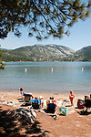 Pinecrest Lake, Watersports, Picnic and Water, Families, family,  Pinecrest, California, USA.  Photo copyright Lee Foster.  Photo # california121462