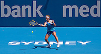 Svetlana Kuznetsova (RUS) against Jelena Dokic (AUS) in the first round of the women's singles. Svetlana Kuznetsova beat Jelena Dokic 6-2 6-2..International Tennis - Medibank International Tournament - Olympic Park - Sydney - Day 1 - Sun 9th January 2011..© Frey - AMN Images, Level 1, Barry House, 20-22 Worple Road, London, SW19 4DH.Tel - +44 208 947 0100.Email - Mfrey@advantagemedianet.com.Web - www.amnimages.photshelter.com