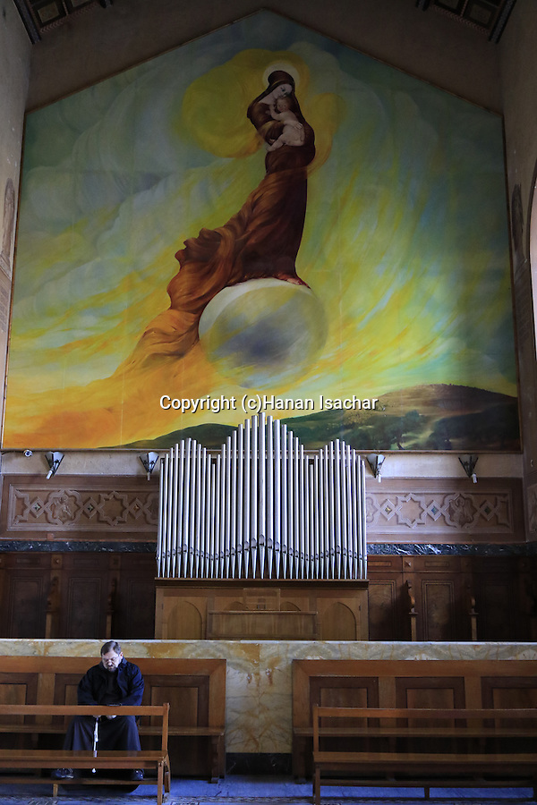 Israel, Jerusalem, the Church of the Visitation in Ein Karem