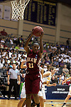 23 MAR 2012:  Kyria Buford (21) of Shaw grabs a rebound during the Division II Womens Basketball Championship held at Bill Greehey Arena in San Antonio, TX.  Shaw University defeated Ashland University 88-82 for the national title.  Rodolfo Gonzalez/ NCAA Photos