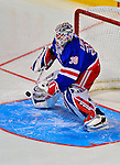 24 January 2009: New York Rangers goaltender Henrik Lundqvist warms up prior to the NHL SuperSkills Competition, part of the All-Star Weekend at the Bell Centre in Montreal, Quebec, Canada. ***** Editorial Sales Only ***** Mandatory Photo Credit: Ed Wolfstein Photo