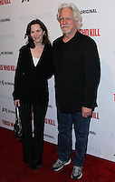 """HOLLYWOOD, LOS ANGELES, CA, USA - FEBRUARY 26: Michele Davison, Bruce Davison at the Premiere Party For A&E's Season 2 Of """"Bates Motel"""" & Series Premiere Of """"Those Who Kill"""" held at Warwick on February 26, 2014 in Hollywood, Los Angeles, California, United States. (Photo by Xavier Collin/Celebrity Monitor)"""