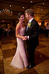 Kelly and Jeremy are seen during thier first dance in the Clooenade room at the Equinox Resort