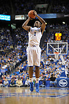 UK's Darius Miller takes a shot during the University of Kentucky Men's basketball game against Auburn at Rupp Arena in Lexington, Ky., on 1/11/11. Uk won the game 78-54. Photo by Mike Weaver   Staff