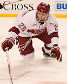 Wiley Sherman (Harvard - 25) - The Harvard University Crimson defeated the Northeastern University Huskies 4-3 in the opening game of the 2017 Beanpot on Monday, February 6, 2017, at TD Garden in Boston, Massachusetts.