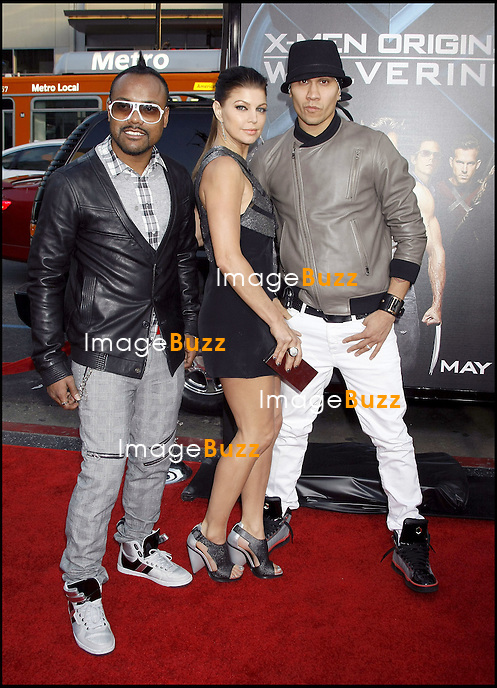 """"""" X-MEN ORIGINS WOLVERINE """" MOVIE PREMIERE, AT THE GRAUMAN'S CHINESE THEATRE IN HOLLYWOOD..LOS ANGELES, APRIL 28, 2009...Pic :  Fergie and The Black Eyed Peas"""