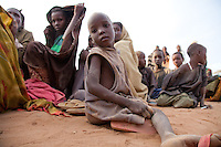 Refugees at the reception center in Dagahaley, part of the sprawling Dadaab refugee camp in northern Kenya.