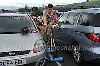A pre race warm up during the Abergavenny Festival of Cycling &quot;Grand Prix of Wales&quot; race on Sunday 17th 2016<br /> <br /> <br /> Jeff Thomas Photography -  www.jaypics.photoshelter.com - <br /> e-mail swansea1001@hotmail.co.uk -<br /> Mob: 07837 386244 -