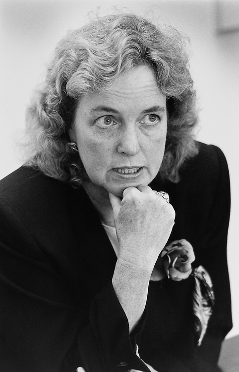 Democrat Kay Slaughter, who ran for Virginia's 7th congressional district in a special election in 1991. October 20, 1991 (Photo by Laura Patterson/CQ Roll Call)