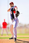 1 March 2010: Washington Nationals' starting pitcher Craig Stammen on the mound during Spring Training at the Carl Barger Baseball Complex in Viera, Florida. Mandatory Credit: Ed Wolfstein Photo