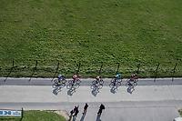 breakaway group from from above<br /> <br /> 72nd Dwars Door Vlaanderen (1.UWT)<br /> 1day race: Roeselare &rsaquo; Waregem BEL (203.4km)