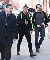 FEB 24 Howie Mandel Arrives at The View