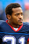 24 December 2006: Buffalo Bills running back Willis McGahee awaits the start of the game against the Tennessee Titans at Ralph Wilson Stadium in Orchard Park, New York. The Titans edged out the Bills 30-29.&amp;#xA; &amp;#xA;Mandatory Photo Credit: Ed Wolfstein Photo<br />