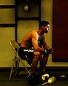 David Duran poses for a portrait at La Habra Boxing Club in La Habra, California on Saturday, April 23, 2011.