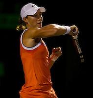Samantha STOSUR (AUS) against Kim CLIJSTERS (BEL) in the Quarter Finals of the women's singles. Kim Clijsters beat Samantha Stosur 6-3 7-5..International Tennis - 2010 ATP World Tour - Sony Ericsson Open - Crandon Park Tennis Center - Key Biscayne - Miami - Florida - USA - Wed 31st Mar 2010..© Frey - Amn Images, Level 1, Barry House, 20-22 Worple Road, London, SW19 4DH, UK .Tel - +44 20 8947 0100.Fax -+44 20 8947 0117