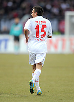 FUSSBALL   1. BUNDESLIGA  SAISON 2011/2012   22. Spieltag 1 FC Nuernberg - 1. FC Koeln       18.02.2012 Slawomir Peszko (1 FC Koeln)