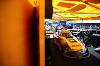 Apr 22, 2017; Baytown, TX, USA; NHRA funny car driver J.R. Todd during qualifying for the Springnationals at Royal Purple Raceway. Mandatory Credit: Mark J. Rebilas-USA TODAY Sports