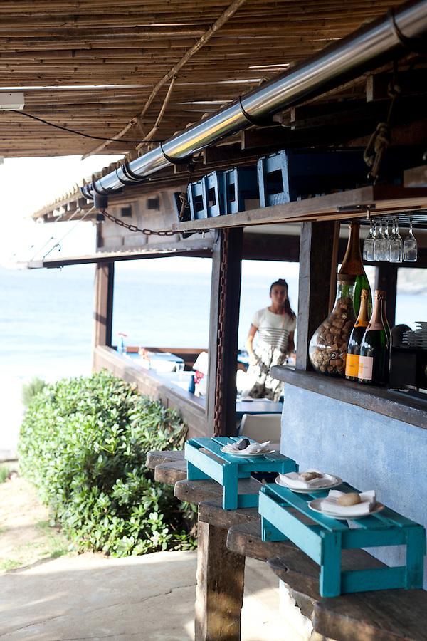 Rocka Beach Lounge and Restaurant, at Brava Beach.