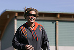 Florida head coach Becky Burleigh on Saturday, March 3rd, 2007 on Field 1 at SAS Soccer Park in Cary, North Carolina. The University of Florida Gators played the Duke University Blue Devils in an NCAA Division I Women's Soccer spring game.