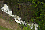 The Moyie river and waterfall