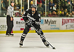 29 December 2014: Providence College Friar Forward Nick Saracino, a Junior from St. Louis, MO, in first period action against the University of Vermont Catamounts during the deciding game of the annual TD Bank-Sheraton Catamount Cup Tournament at Gutterson Fieldhouse in Burlington, Vermont. The Friars shut out the Catamounts 3-0 to win the 2014 Cup. Mandatory Credit: Ed Wolfstein Photo *** RAW (NEF) Image File Available ***