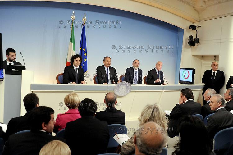 Roma, 26 Mar 2012.Palazzo Chigi.Italiacamp - Centro di idee per lo sviluppo del Paese .