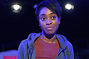 "Damsel Productions presents, Soho Young Writer Award Winner, Phoebe Eclair-Powell's play ""Fury"" at Soho Theatre. Directed by Hannah Bauer-King, with set design by Anna Reid, and lighting design by Natasha Chivers. Picture shows: Anita-Joy Uwajeh"