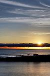 Sunset at the Wedge 1, Balboa Peninsula,CA.