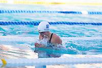 Santa Clara, California - Saturday June 4, 2016: Martha McCabe races in the Women's 200 LC Meter Breaststroke at the Arena Pro Swim Series at Santa Clara A final.