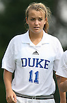 Duke's Sara Murphy on Sunday September 17th, 2006 at Koskinen Stadium on the campus of the Duke University in Durham, North Carolina. The Duke Blue Devils and Marquette Golden Eagles tied 1-1 after overtime in an NCAA Division I Women's Soccer game.