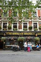 The Sherlock Holmes. One of London's oldest pubs.<br /> <br /> <br /> Photo credit: Jeff Thomas - Jeff Thomas Photography - 07837 386244/07837 216676 - www.jaypics.photoshelter.com - thomastwotimes@live.co.uk