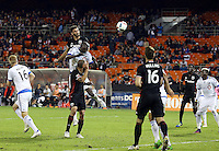Washington, DC. - Thursday, October 27 2016: The Montreal Impact defeated DC United 4-2 in an MLS Cup knockout round match at RFK Stadium.