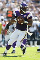 09/11/11 San Diego, CA: Minnesota Vikings quarterback Donovan McNabb #5 during an NFL game played at Qualcomm Stadium between the San Diego Chargers and the Minnesota Vikings. The Chargers defeated the Vikings 24-17.