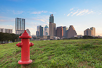 While out photographing the downtown Austin skyline from the Long Center area, I noticed this bright red fire hydrant off to side of the pavillion. I couldn't resist capturing the high rises in the distance with the splash of color in the foreground. I actually had to desaturate the fire hydrant just a bit bc the reds were so out of control!