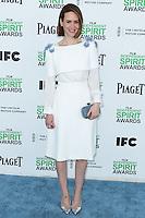 SANTA MONICA, CA, USA - MARCH 01: Sarah Paulson at the 2014 Film Independent Spirit Awards held at Santa Monica Beach on March 1, 2014 in Santa Monica, California, United States. (Photo by Xavier Collin/Celebrity Monitor)