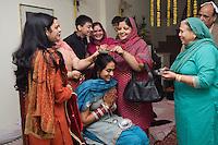 Delhi, India, 20 gennaio 2011. Matrimonio di Sumedha e Sapan.